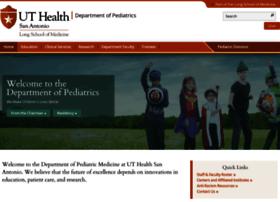 pediatrics.uthscsa.edu
