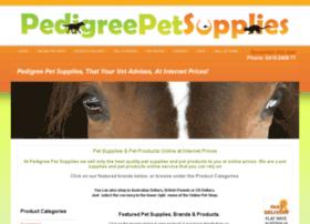 pedigreepetsupplies.com.au