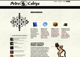 pedrocabiya.com