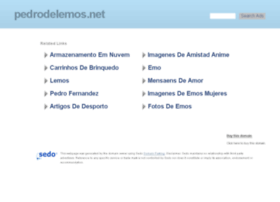 pedrodelemos.net