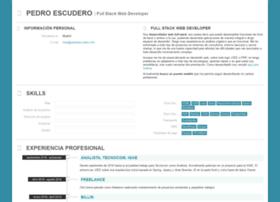 pedroescudero.info