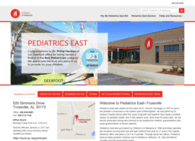 pedseast.childrensal.org