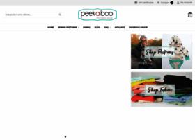 peekaboopatternshop.com