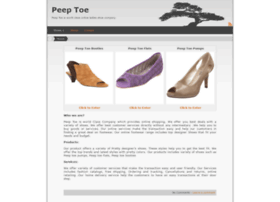 peep-toe.net