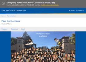 peerconnections.sjsu.edu