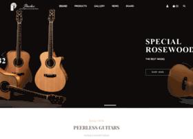 peerlessguitars.com