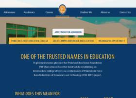 pefc.edu.pk