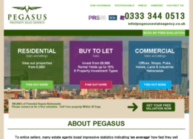 pegasusestateagency.co.uk