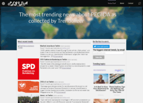 pegida.trendolizer.com