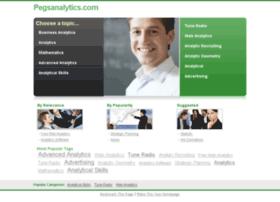 pegsanalytics.com