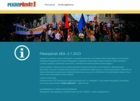 pekanpaivat.fi