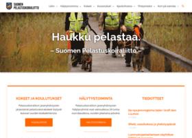 pelastuskoiraliitto.fi