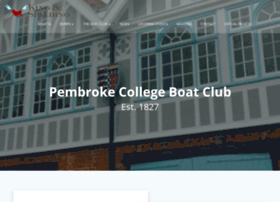 pembrokecollegeboatclub.com