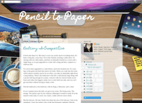 pencil-to-paper.blogspot.com