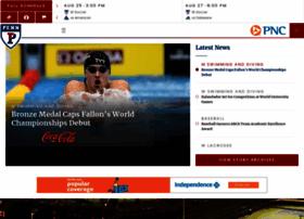 pennathletics.com