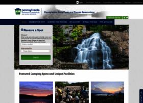 pennsylvaniastateparks.reserveamerica.com
