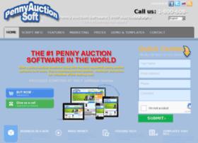 pennyauctionsoft.com