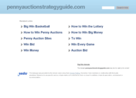 pennyauctionstrategyguide.com