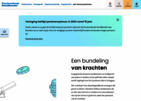 pensioenfondsdetailhandel.nl
