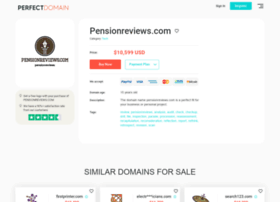 pensionreviews.com