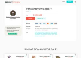 pensionreviews.com