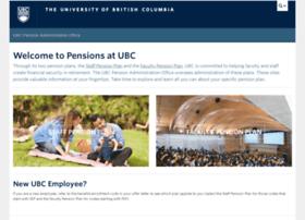 pensions.ubc.ca