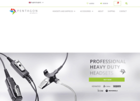 pentagon-headsets.co.uk