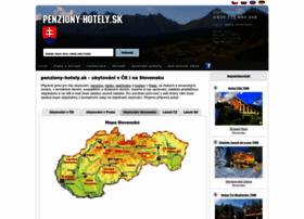 penziony-hotely.sk
