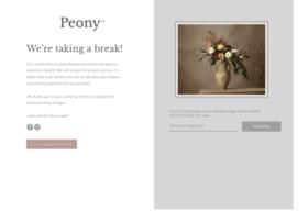 peony.co.uk