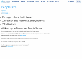 people.zeelandnet.nl