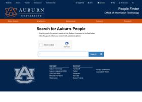 peoplefinder.auburn.edu