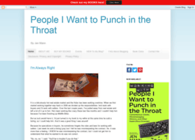 peopleiwanttopunchinthethroat.com