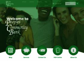 peoplescommunitybank.com