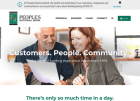 peoplesnationalbank.com