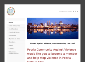 peoriacommunityagainstviolence.weebly.com