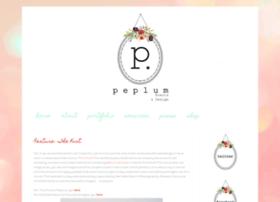 peplumevents.com
