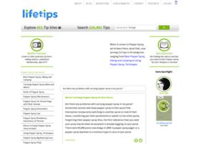 pepperspray.lifetips.com