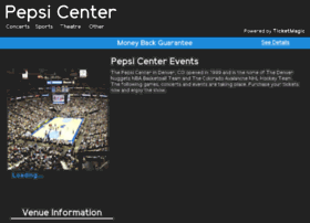 pepsi.center-boxoffice.com