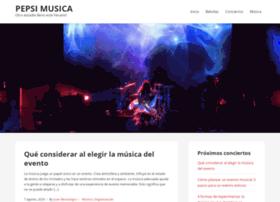 pepsimusic.com.ar