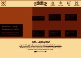 pequeacreekcampground.com