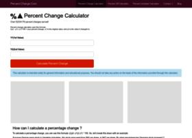 percent-change.com