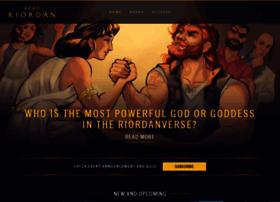 percyjacksonbooks.com