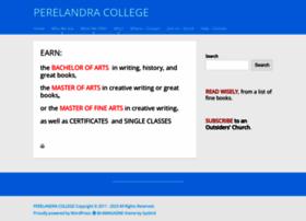 perelandra.edu