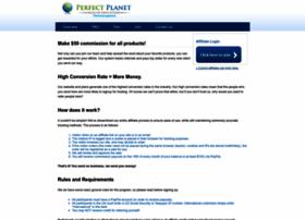 perfectplanet.postaffiliatepro.com