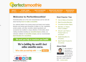 perfectsmoothie.com