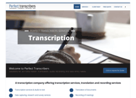 perfecttranscribers.co.za