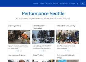 performance.seattle.gov