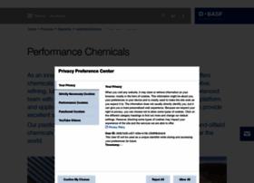 performancechemicals.basf.com