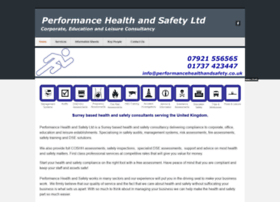 performancehealthandsafety.co.uk
