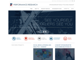 performanceresearch.com